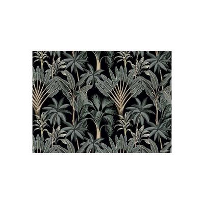 Set de table Tresors / Vinyle - Beaumont noir,vert en matière plastique