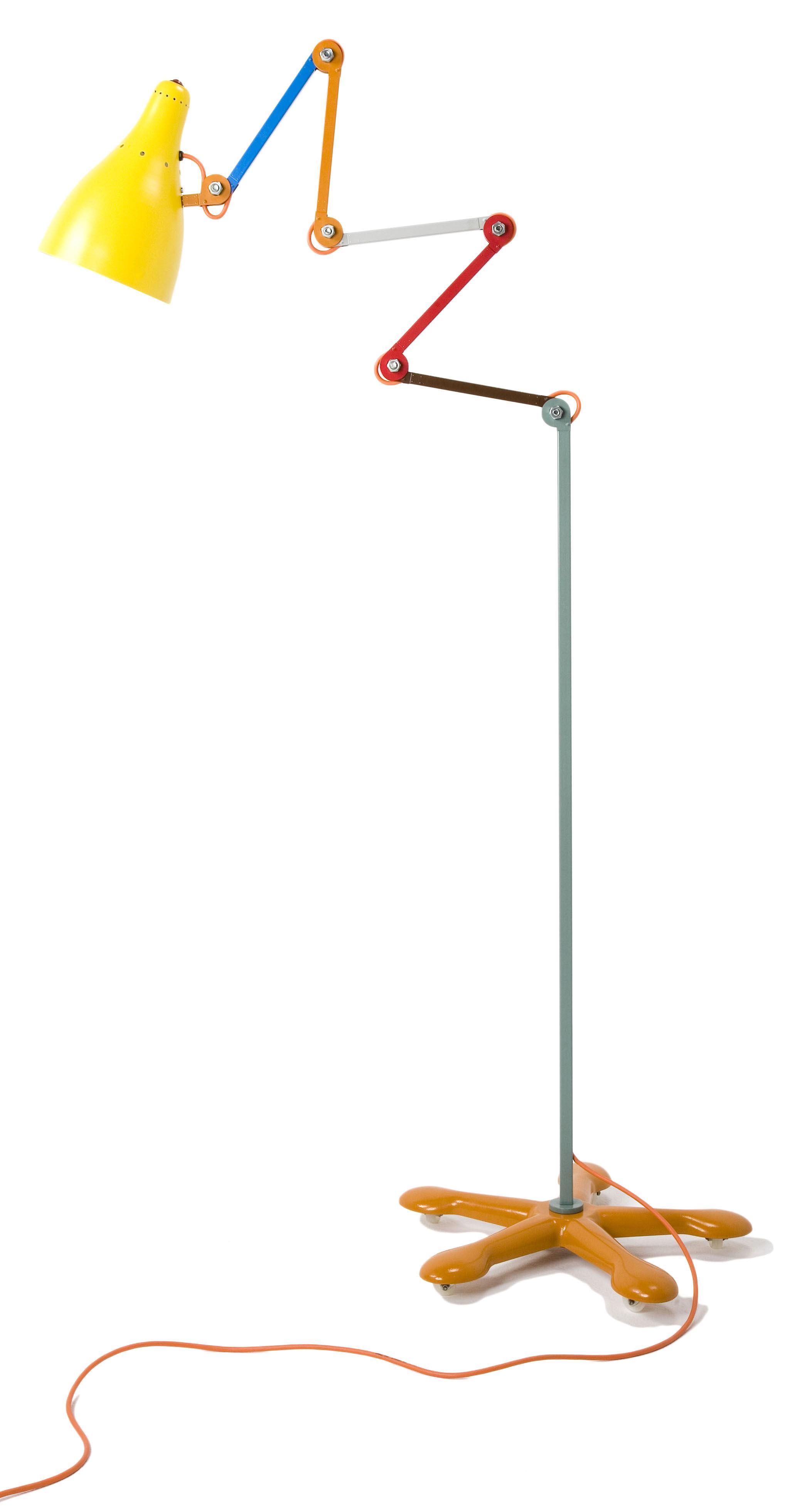 Leuchten - Stehleuchten - Mirobolite Stehleuchte H 120 bis 260 cm - Tsé-Tsé - Mehrfarbig - rostfreier bemalter Stahl