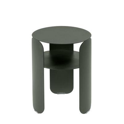 Mobilier - Tables basses - Table d'appoint Bebop / Ø 35 x H 45 cm - Fermob - Romarin - Aluminium peint