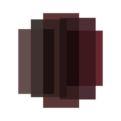Tapis Blended / 5 couleurs - 250 x 223 cm - Moooi Carpets rouge marble en tissu