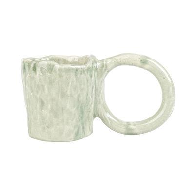 Arts de la table - Tasses et mugs - Tasse Donut Large / Edition limitée - Fait main - PIA CHEVALIER - Citron Vert - Faïence émaillée