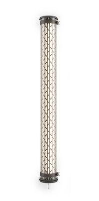 Lighting - Wall Lights - Belleville LED Wall light - / Pendant - L 130 cm by SAMMODE STUDIO - Black - Anodized aluminium, Polycarbonate, Stainless steel