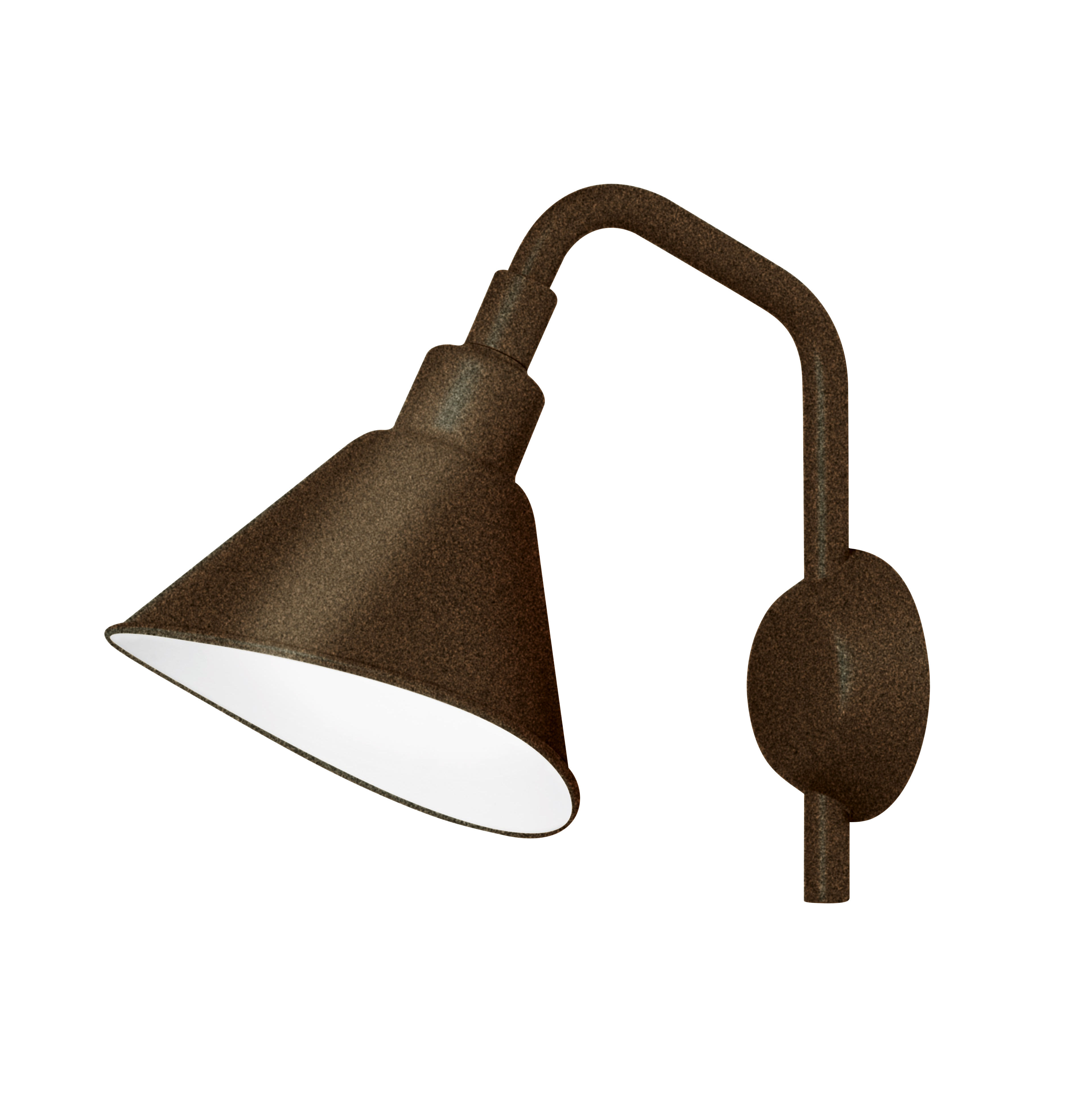 Luminaire - Appliques - Applique Smash Small / Métal - L 25 x H 32 cm - Diesel with Foscarini - Rouille - Aluminium verni, Métal verni