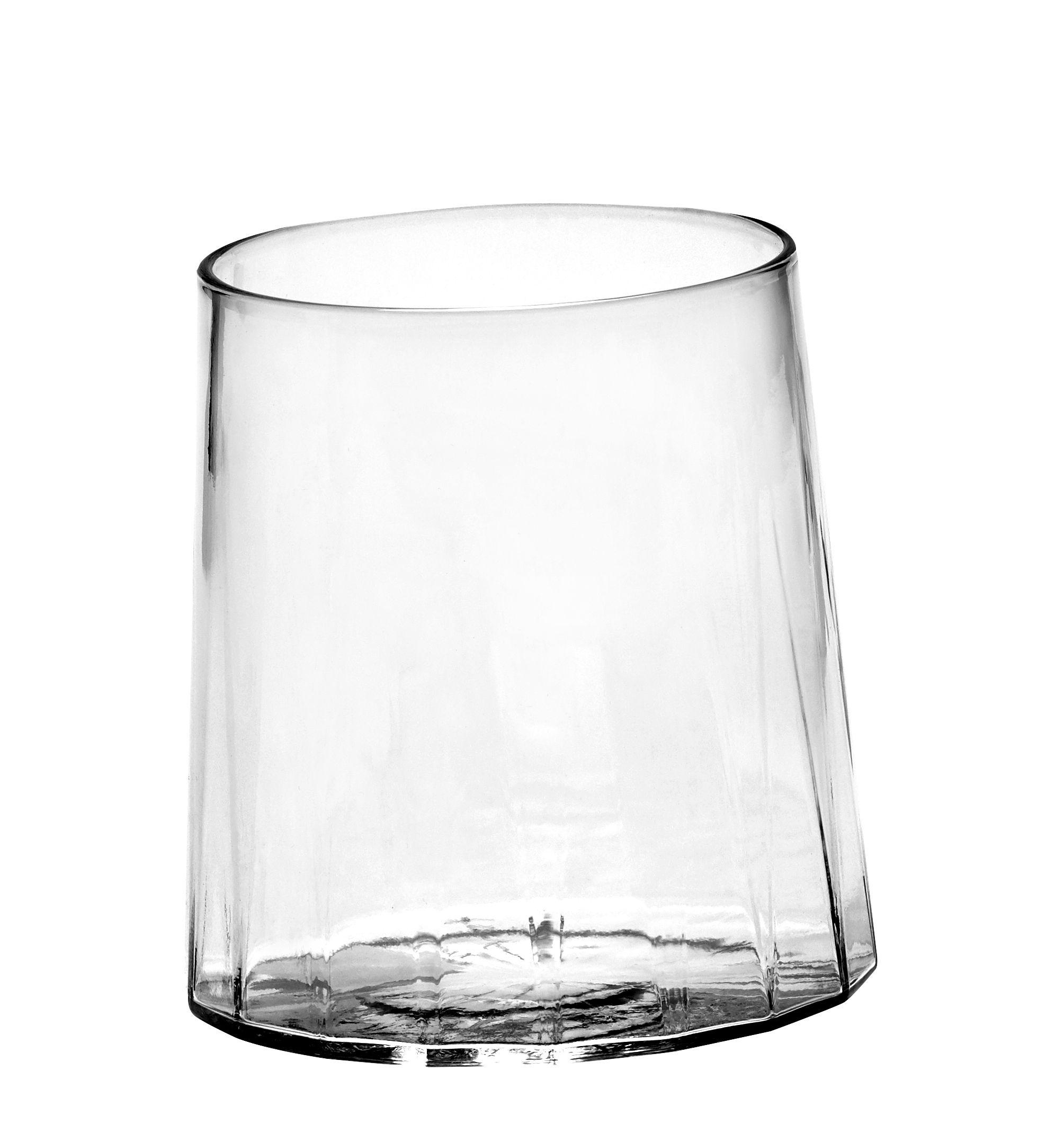 Tavola - Bicchieri  - Bicchiere da acqua San Pellegrino di Serax - Trasparente - Vetro