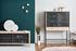 Buffet Gabin / Meuble TV - L 122 cm - Chêne & métal - Hartô