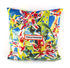 Toiletpaper Cushion - / Flower with holes - 50 x 50 cm by Seletti