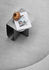 Mass End table - / 40 x 30 cm - Metal / Built-in magazine rack by Northern