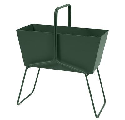 Outdoor - Vasi e Piante - Fioriera Basket alta / L 70 x H 84 cm - Fermob - Cedro - Acciaio, Alluminio