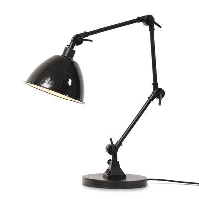 Luminaire - Lampes de table - Lampe de table Amsterdam / Abat-jour métal - H 100 cm max. - It's about Romi - Noir - Fer