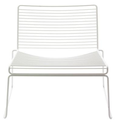 Möbel - Lounge Sessel - Hee Lounge Sessel Clubsessel - Hay - Weiß - lackierter Stahl
