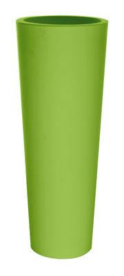 Pot de fleurs New Pot High H 90 cm - Serralunga vert en matière plastique