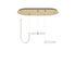 Suspension Unseen LED / 3 éléments - 100 x 53 cm - Petite Friture