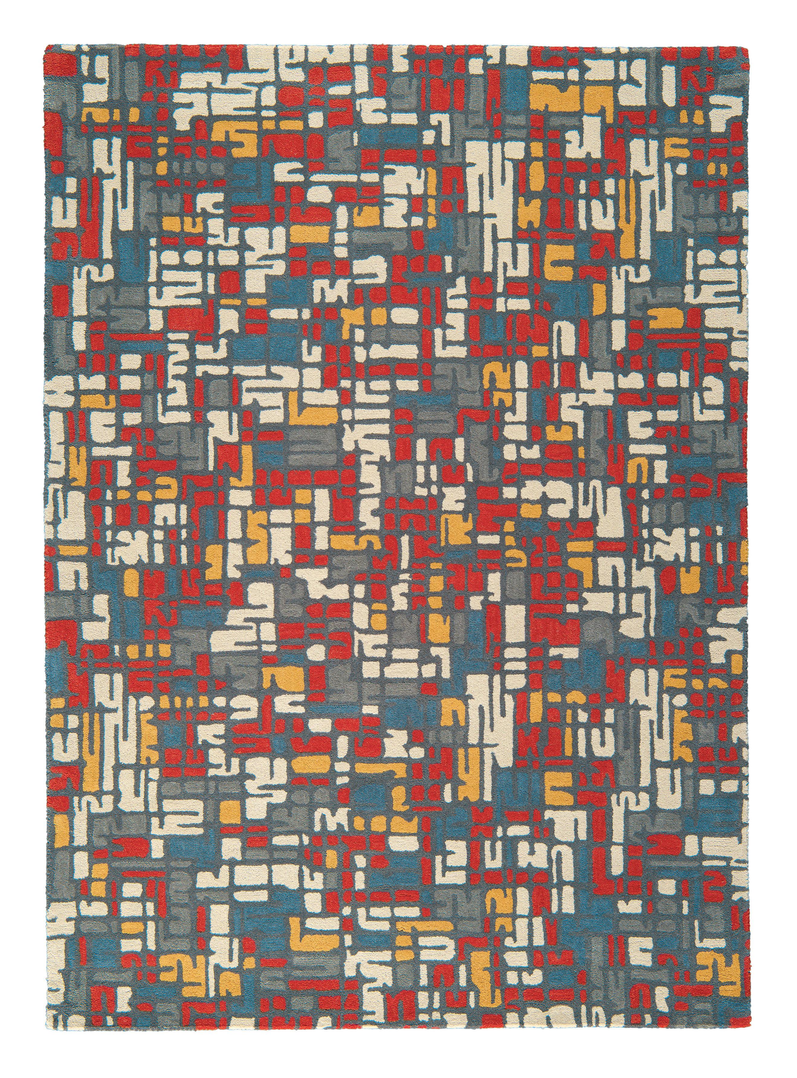 Tapis traffic 170 x 240 cm tuft main multicolore - Made in design tapis ...