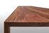 Tavolo rettangolare Tense Material - / 90 x 220 cm - Noce di MDF Italia
