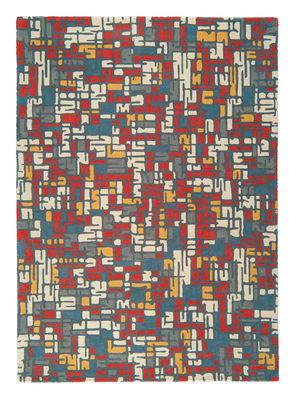 Traffic Teppich / 170 x 240 cm - handgeknüpft - Toulemonde Bochart - Bunt