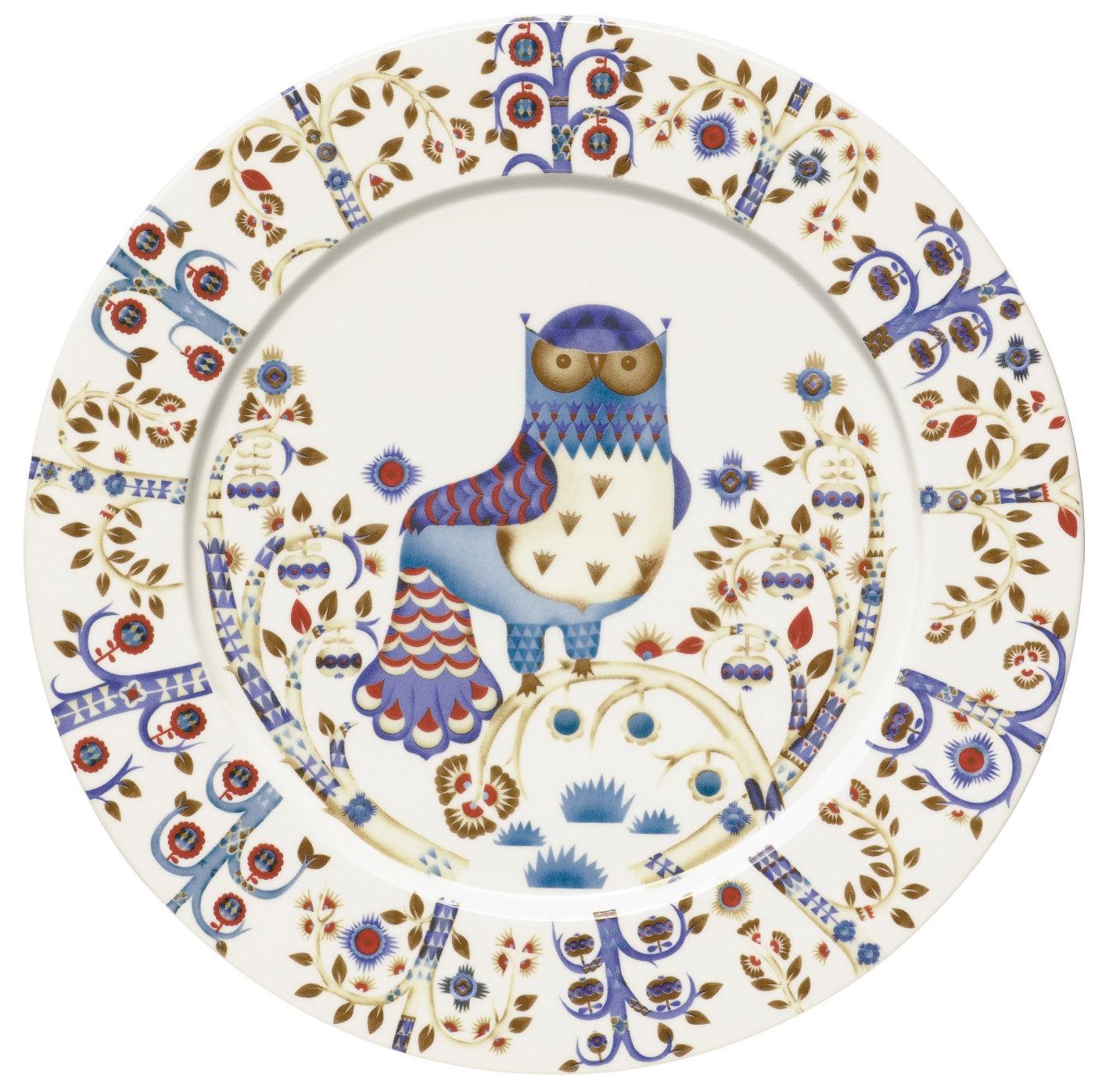Arts de la table - Assiettes - Assiette Taika / Ø 30 cm - Iittala - Blanc - Céramique