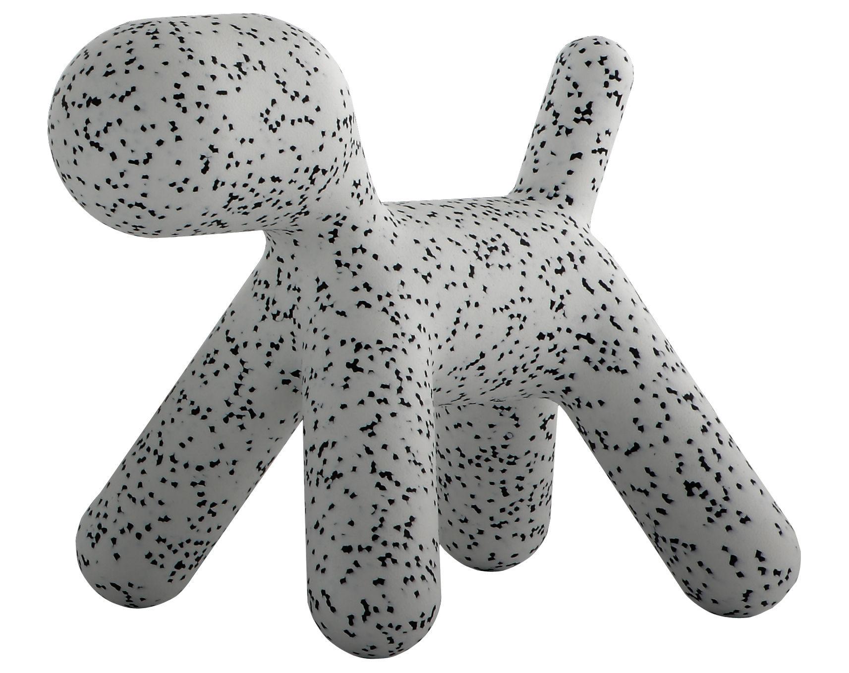 Mobilier - Mobilier Kids - Chaise enfant Puppy Large / Dalmatien - L 69 cm - Magis Collection Me Too - Blanc / Moucheté noir - Polyéthylène rotomoulé