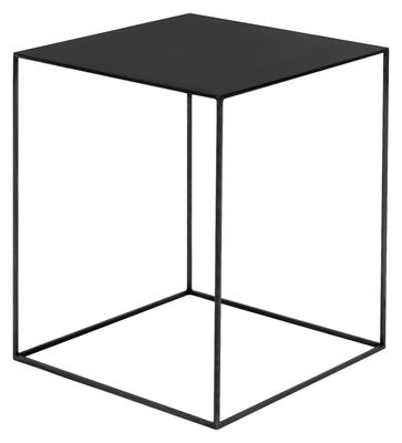 Furniture - Coffee Tables - Slim Irony Coffee table by Zeus - Black steel - Steel