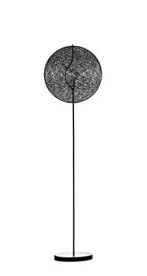 Lighting - Floor lamps - Random Light LED Floor lamp - LED - Small Ø 50 cm by Moooi - Black - H 187 x Ø 50 cm - Fibreglass, Steel