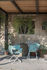 Snooze Directeur Folding armchair - / Fabric & Metal by Emu
