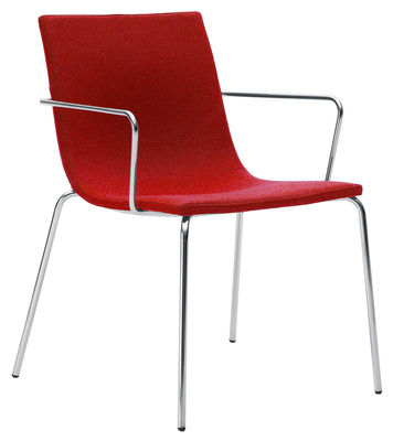 Bond Light Gepolsterter Sessel - Offecct - Rot