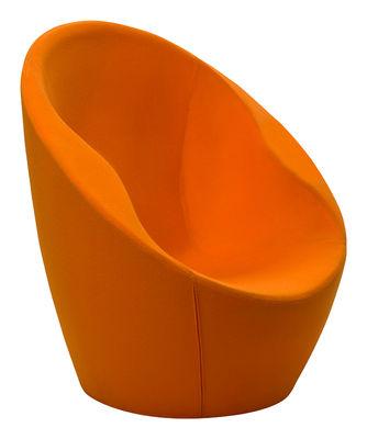 Ouch Gepolsterter Sessel mit Stoffbezug - Casamania - Orange