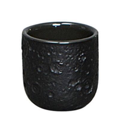Tischkultur - Tassen und Becher - Cosmic Diner - Lunar Kaffeetasse - Diesel living with Seletti - Schwarz - Sandstein