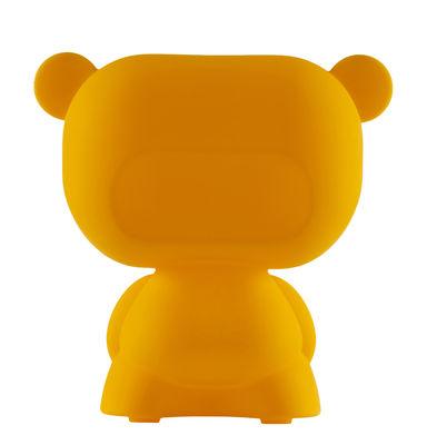 Lampe de table Pure / H 45 cm - Slide orange en matière plastique