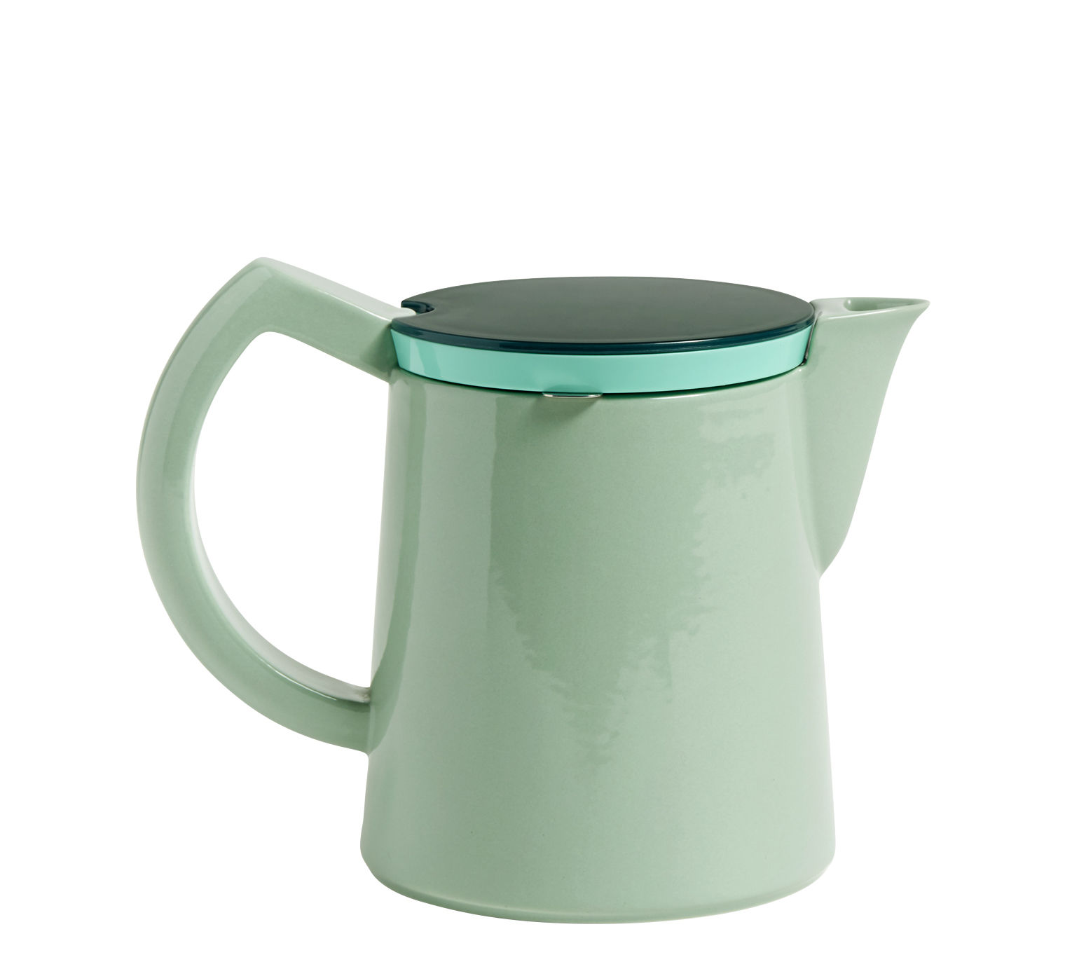 Tableware - Tea & Coffee Accessories - Manual filter coffee maker - / Medium - 0.8 l by Hay - Light green - China, Plastic, Stainless steel