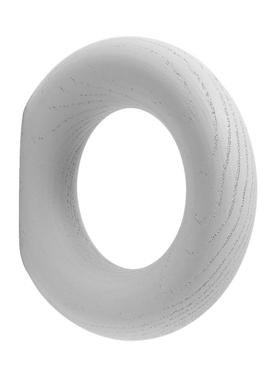 Mobilier - Portemanteaux, patères & portants - Patère Gym Small / Ø 9,5 cm - Hay - Gris clair - Frêne teinté