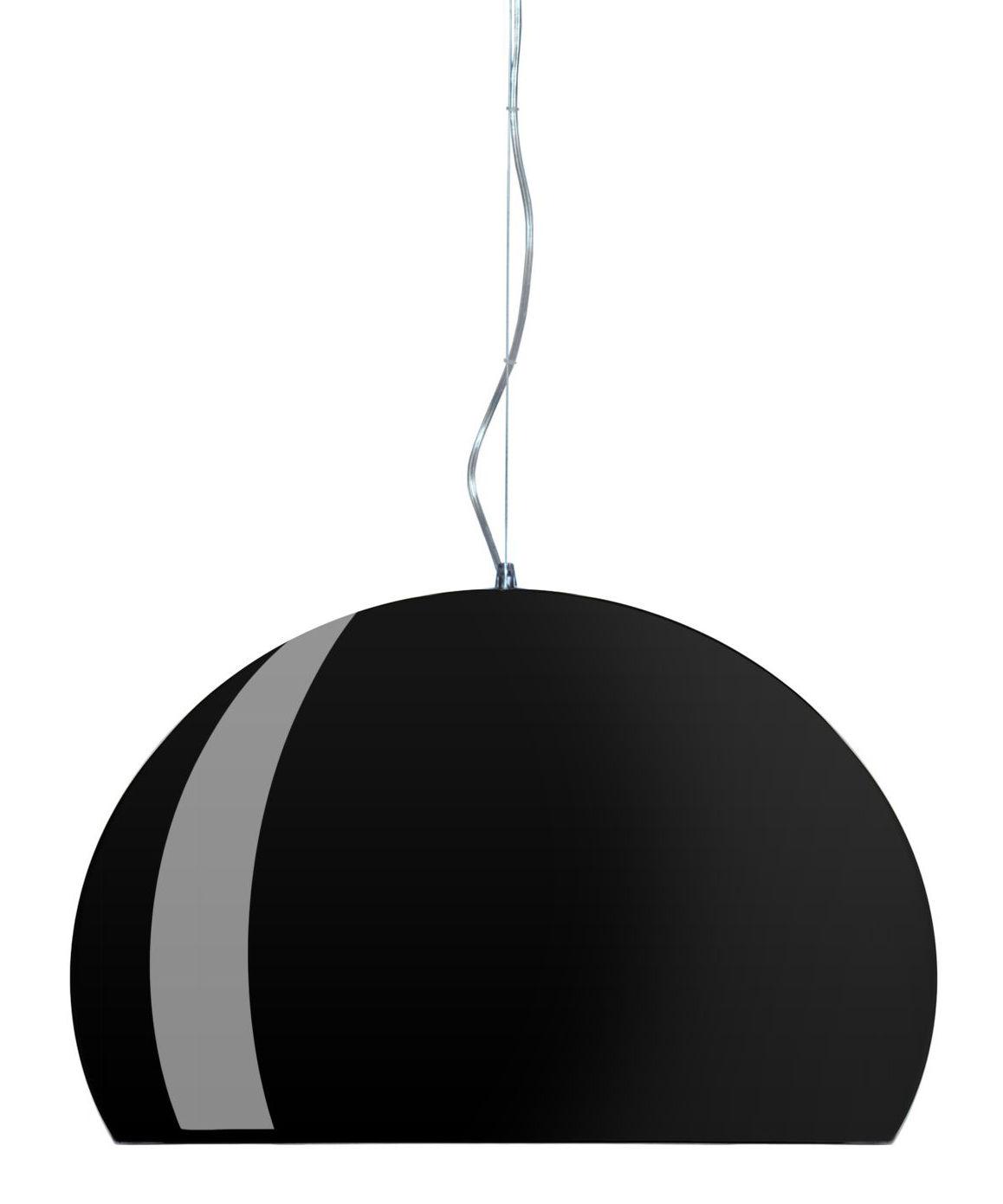 Leuchten - Pendelleuchten - FL/Y Pendelleuchte - Kartell - Schwarz - PMMA teinté dans la masse