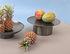 Piatto di presentazione per dolci Doric - / Acciaio inox di XL Boom