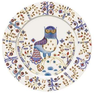 Tableware - Plates - Taika Plate by Iittala - White bottom - Ceramic