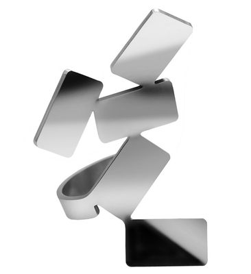 Accessories -  Jewellery - Vieni via con me Ring by Alessi - Polished metal - Stainless steel 18/10