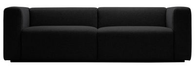 Furniture - Sofas - Mags Straight sofa - 2 ½ seats / L 228 cm by Hay - Dark grey - Fabric