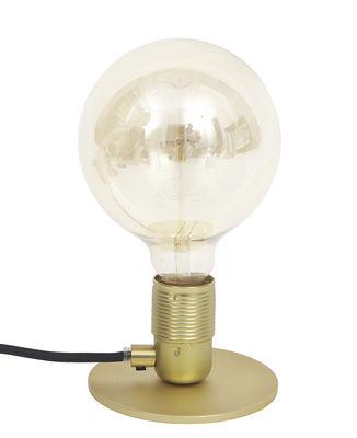 Leuchten - Tischleuchten - Frama Kit Tischleuchte - Frama  - Messing / Kabel schwarz - Metall