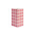 Tile Small Vase - / 10.5 x 10.5 x 21 cm by & klevering