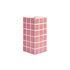 Vase Tile Small / 10.5 x 10.5 x 21 cm - & klevering