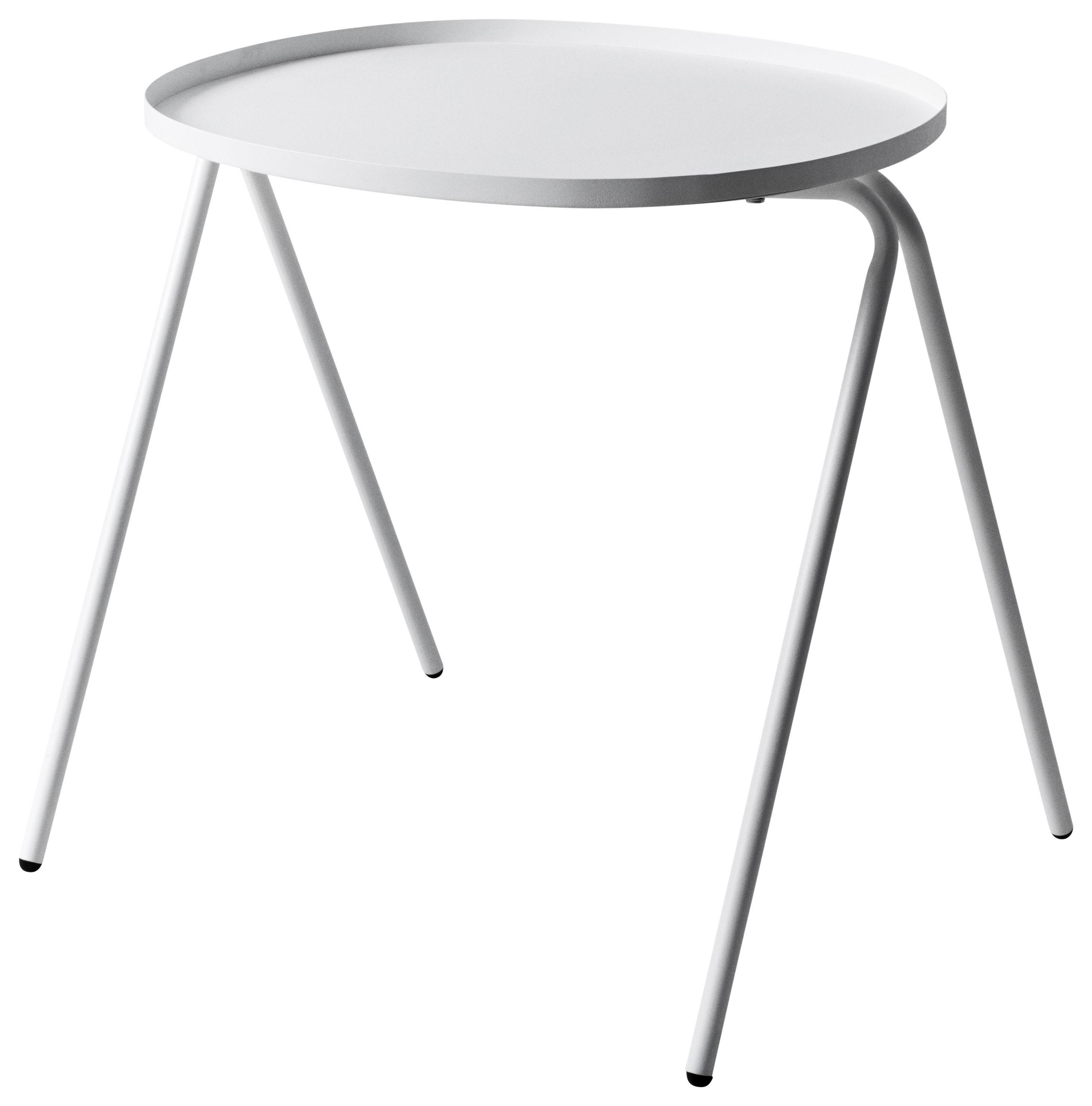 Möbel - Couchtische - Afteroom Beistelltisch - Menu - Weiß - lackierter Stahl