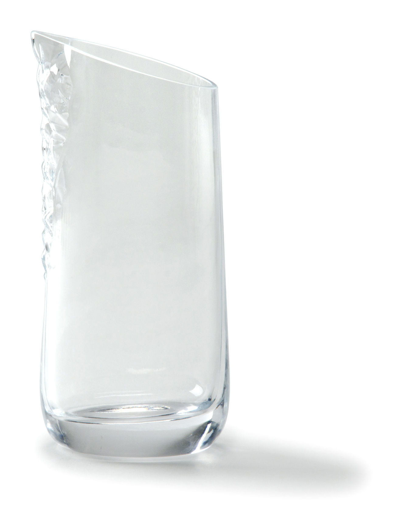 Tableware - Water Carafes & Wine Decanters - Minera Carafe - 1 L by Petite Friture - Clear - Glass
