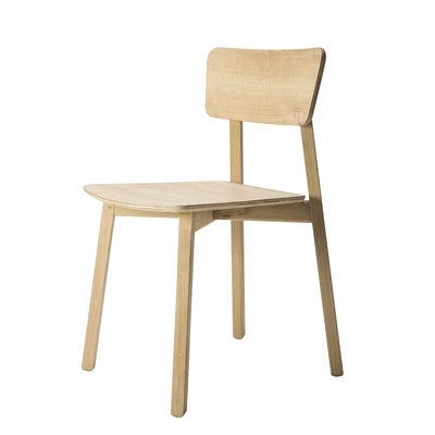 Mobilier - Chaises, fauteuils de salle à manger - Chaise Casale / Chêne massif - Ethnicraft - Chêne - Chêne massif