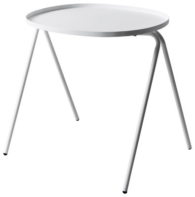 Furniture - Coffee Tables - Afteroom End table by Menu - White - Lacquered steel