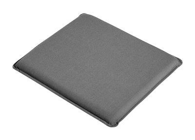 Galette d'assise / Pour chaise & fauteuil Palissade - Hay gris anthracite en tissu