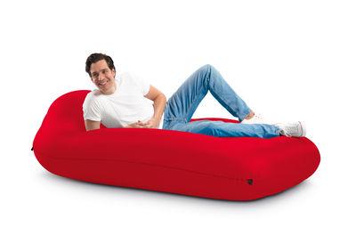 Matelas gonflable Lamzac L / L 195 x Larg 112 cm - Fatboy rouge en tissu
