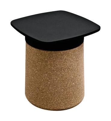 Plateau de table Degree /Pour table d´appoint - Polypropylène - Kristalia noir en matière plastique