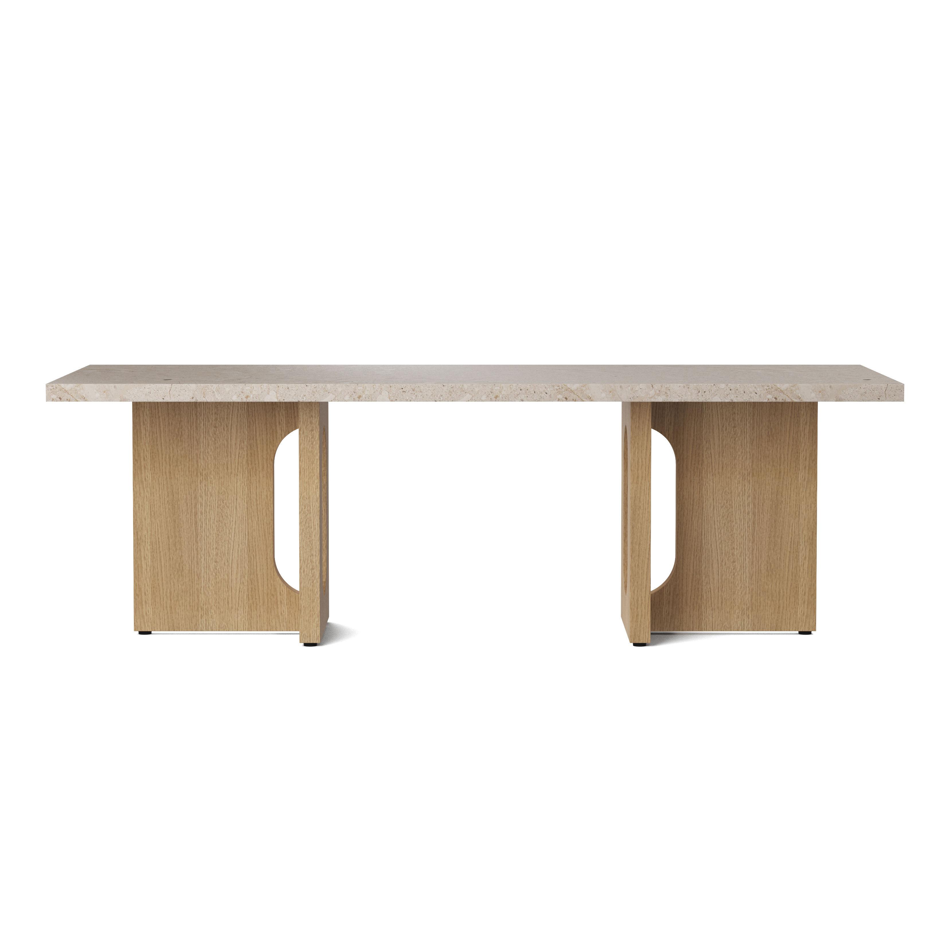 Tavolino Androgyne Di Menu Beige Legno Naturale Made In Design