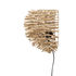 Wall light with plug - / Rattan rods - L 38 x H 28 cm by Bloomingville