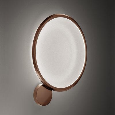 Luminaire - Appliques - Applique Discovery LED / Plafonnier - Ø 70 cm - Artemide - Bronze / Transparent - Aluminium, PMMA