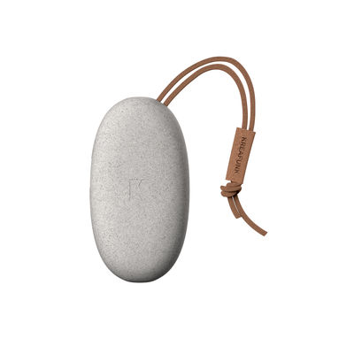 Accessories - High Tech Accessories - toCHARGE MINI CARE Backup battery - / Mobile - iPhone & smartphone by Kreafunk - Speckled grey - Leather, Plastic, Wheat straw fibre