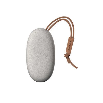 Accessori - High-tech  - Batteria di soccorso toCHARGE MINI CARE - / portatile - iPhone & smartphone di Kreafunk - Grigio screziato - Fibre de paille de blé, Pelle, Plastica